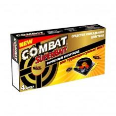 Combat SuperBait 4 ловушки для тараканов
