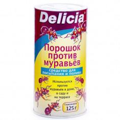 Порошок против муравьев Delicia (Делиция), 125гр
