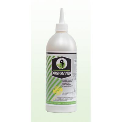 Экокиллер биологическое средство (порошок) от клопов, тараканов, колорадского жука, клещей, муравьев, слизняков. 500мл