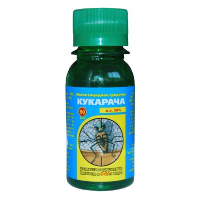 Кукарача: средство от клопов, тараканов и муравьев - инструкция по применению