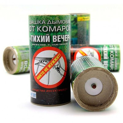 """Купить дымовую шашку """"Тихий Вечер"""" от комаров, клопов, мух и других насекомых"""