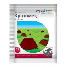 Препарат для отпугивания кротов Кротомет