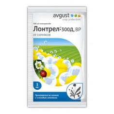 Средство для борьбы с сорняками в посадках земляники Лонтрел-300Д, 3 мл