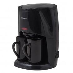 Кофеварка ENERGY EN-601 черная, 450 Вт, 2 чашки