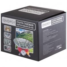 Плита газовая портативная ENERGY GS-100 (чехол+коробка)
