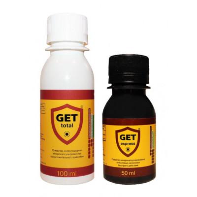 Средства от клопов, тараканов Get (Гет) Тотал + Get Express