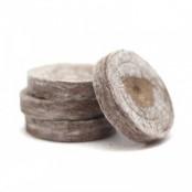 Торфяные таблетки (горшочки) для рассады Jiffy-7 (Джиффи), 44 мм