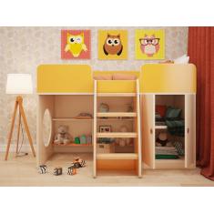"""Детская игровая кровать чердак """"Апельсин"""""""