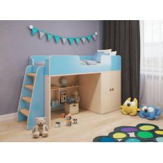 """Детская игровая кровать чердак """"Небо"""""""
