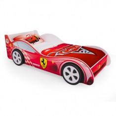 Детская кровать машина Красная