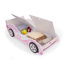 Детская кровать машина Принцесса с ящиками