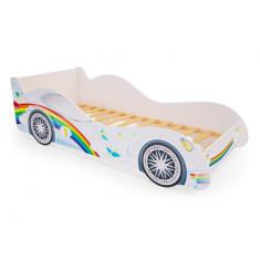 Детская кровать машина Радуга