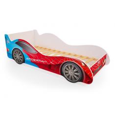 Детская кровать машина Спайдер-Мен