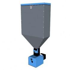Горелка Пеллетрон-10МА (2,5-10 кВт) с автоматом отключения и бункером