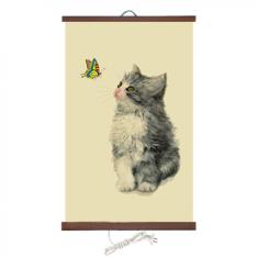 Гибкий настенный обогреватель Доброе тепло Котёнок-1