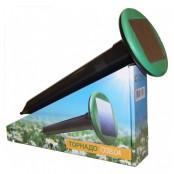 Торнадо ОЗВ_04 отпугиватель кротов и змей на солнечной батарее вибрационный