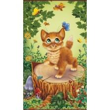 """Гибкий пленочный обогреватель, картина """"Котёнок-2"""" на стену."""