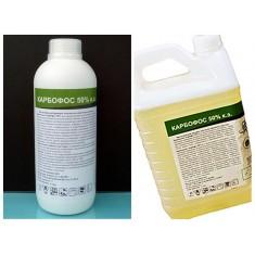 Средство от клопов, тараканов, муравьев Карбофос 50%, 5 литров