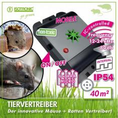 ISOTRONIC MICE+RATS REPELLER отпугиватель крыс и мышей