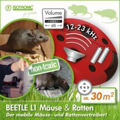 ISOTRONIC BEETLE L1 отпугиватель крыс и мышей