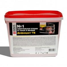 Отрава для грызунов Дифакрат ТБ (ведро 4 кг)