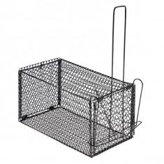 Крысоловка складная металлическая средняя (24 × 13 × 13 см)
