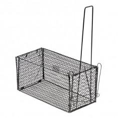 Крысоловка складная металлическая большая (28 × 15 × 15 см)