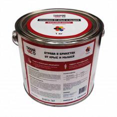 Отрава для грызунов Тихий Час ассорти в брикетах (1 кг)