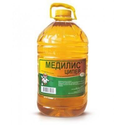 Медилис-Ципер от комаров, клопов и клещей (инсектоакарицид), 5 л