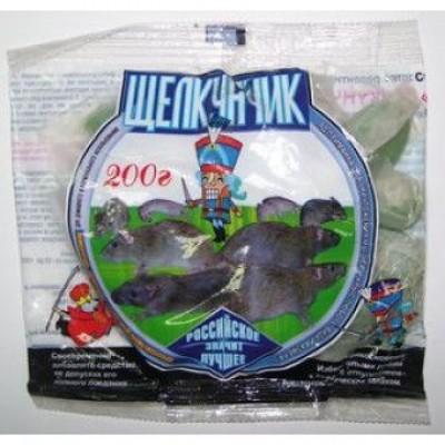 Щелкунчик отрава для грызунов (крыс, мышей)