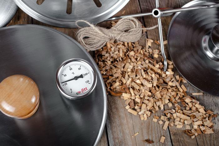 Биметалический термометр HANHI SMOKE 20.